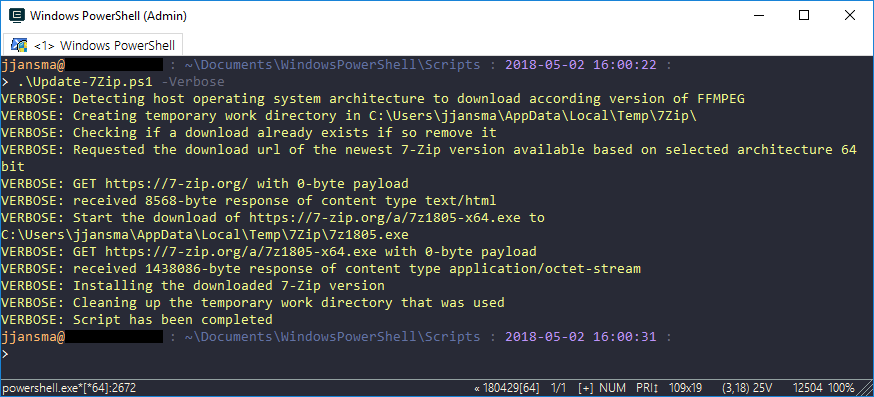 Installing or updating 7-Zip using PowerShell   Perplexity